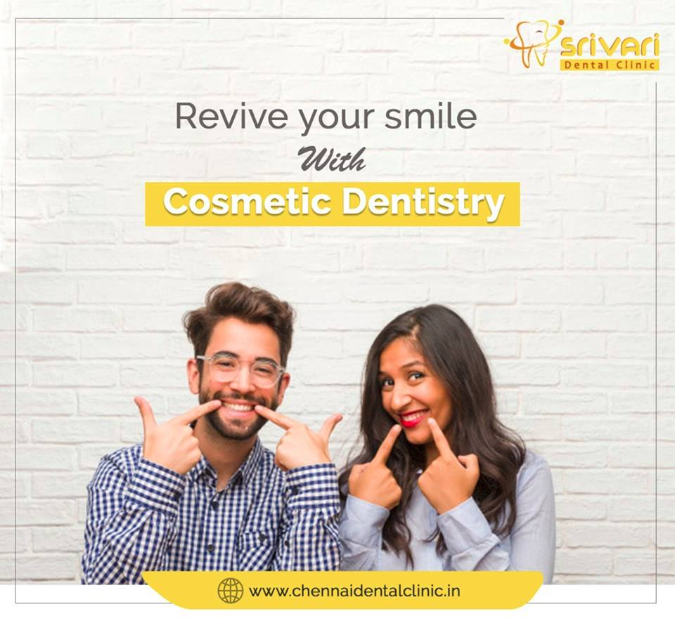 Dream smile with cosmetic dentistry